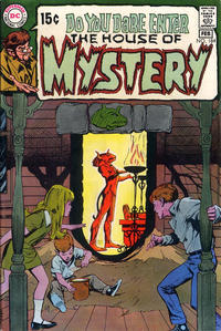 Cover Thumbnail for House of Mystery (DC, 1951 series) #184