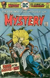 Cover for House of Mystery (DC, 1951 series) #240