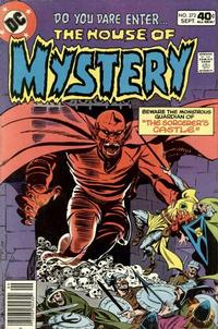 Cover for House of Mystery (1951 series) #272