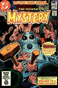 Cover Thumbnail for House of Mystery (DC, 1951 series) #298