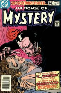 Cover for House of Mystery (DC, 1951 series) #299 [Newsstand Edition]