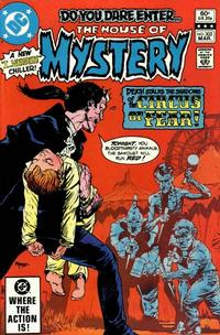 Cover Thumbnail for House of Mystery (DC, 1951 series) #302 [Direct]