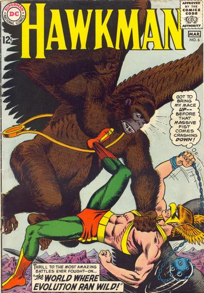 Cover for Hawkman (1964 series) #6