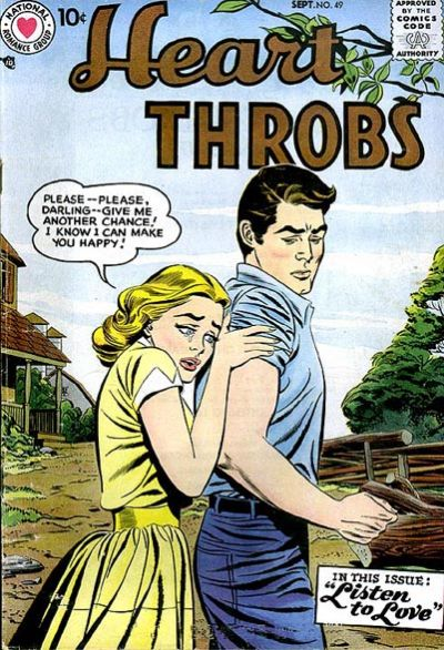 Cover for Heart Throbs (1957 series) #49