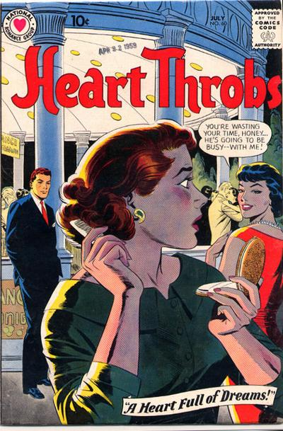 Cover for Heart Throbs (DC, 1957 series) #60