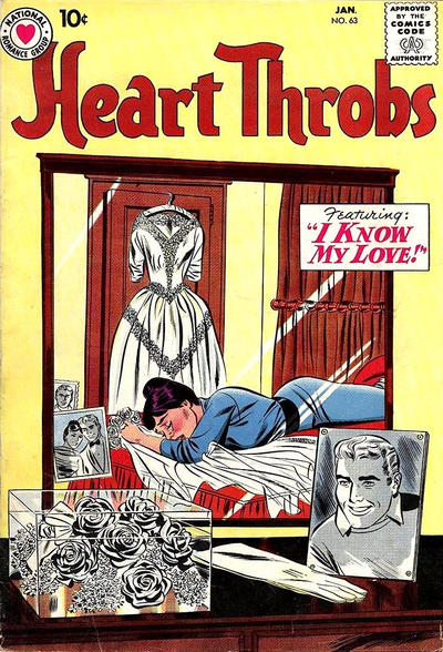 Cover for Heart Throbs (DC, 1957 series) #63