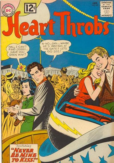 Cover for Heart Throbs (DC, 1957 series) #81