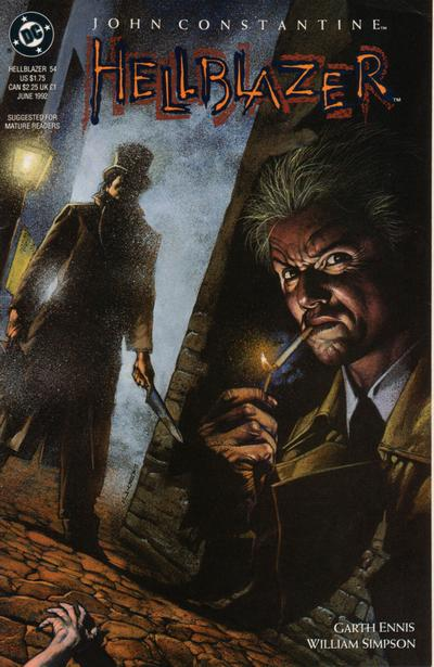 Cover for Hellblazer (DC, 1988 series) #54