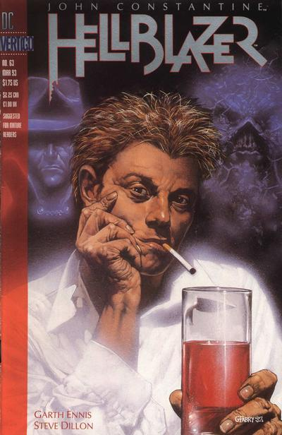Cover for Hellblazer (DC, 1988 series) #63