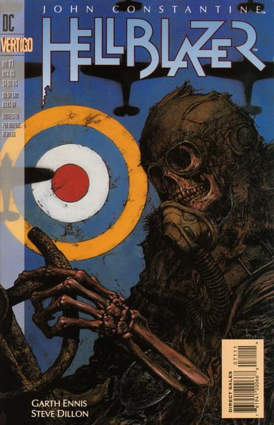 Cover for Hellblazer (DC, 1988 series) #71