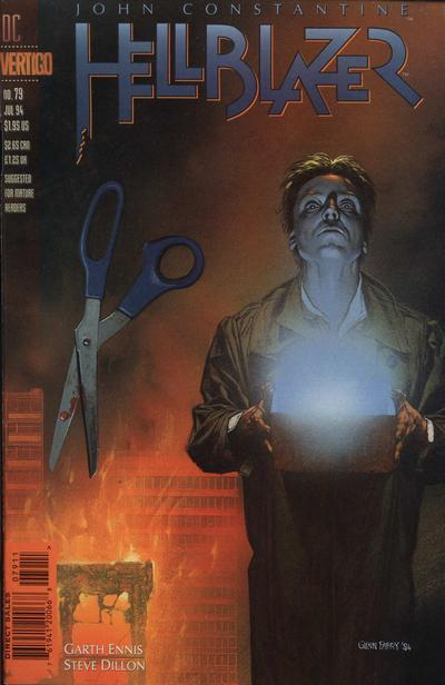 Cover for Hellblazer (DC, 1988 series) #79