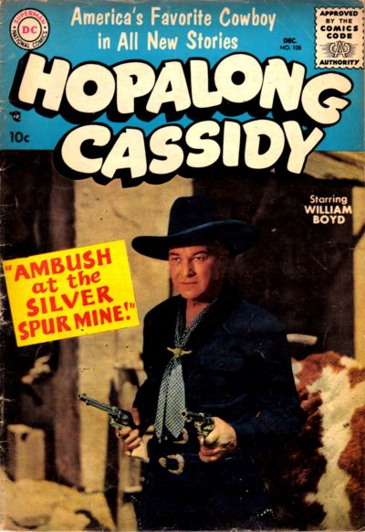 Cover for Hopalong Cassidy (1954 series) #108