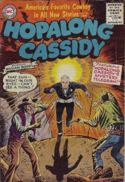 Cover for Hopalong Cassidy (1954 series) #109