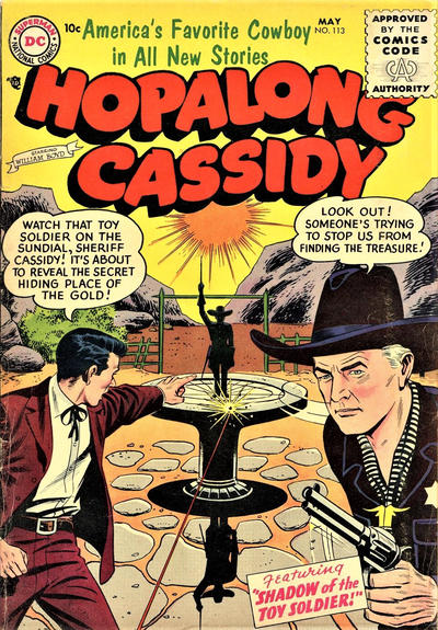Cover for Hopalong Cassidy (DC, 1954 series) #113
