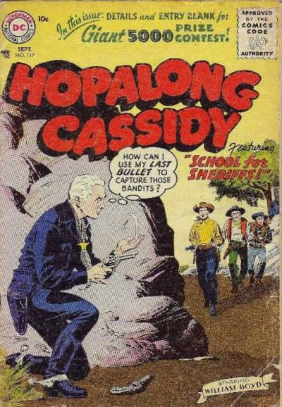 Cover for Hopalong Cassidy (DC, 1954 series) #117