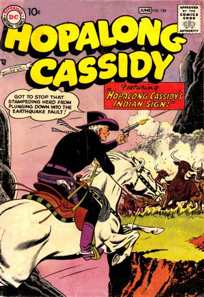 Cover for Hopalong Cassidy (1954 series) #129
