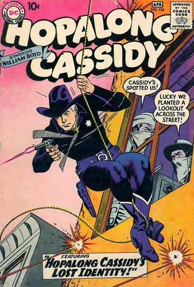 Cover for Hopalong Cassidy (DC, 1954 series) #134