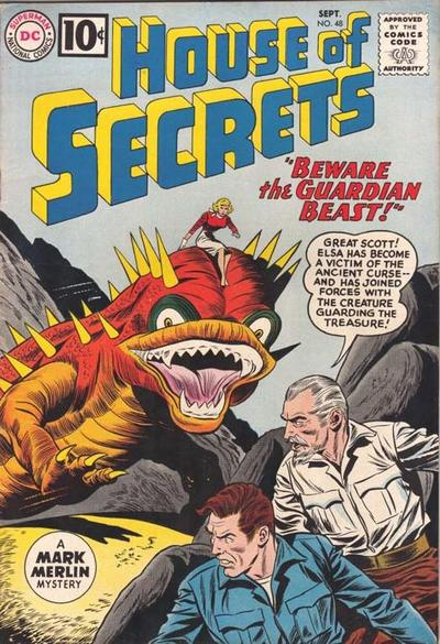 Cover for House of Secrets (1956 series) #48