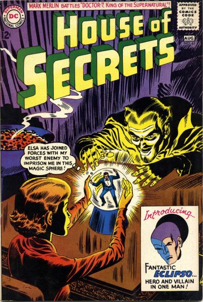 Cover for House of Secrets (DC, 1956 series) #61