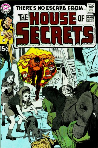 Cover for House of Secrets (1969 series) #84