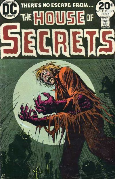 Cover for House of Secrets (DC, 1969 series) #111