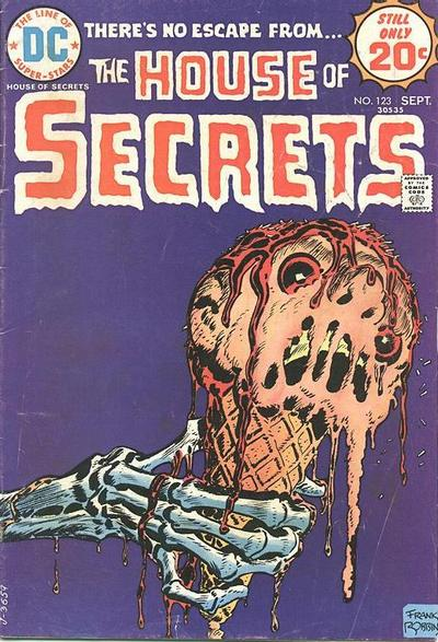 Cover for House of Secrets (1969 series) #123