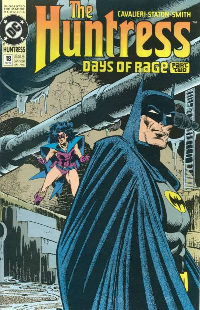 Cover for The Huntress (DC, 1989 series) #18
