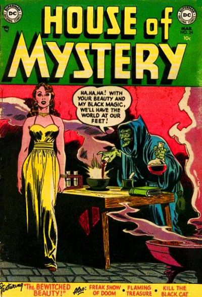 Cover for House of Mystery (1951 series) #24