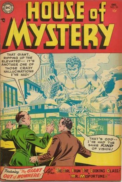 Cover for House of Mystery (DC, 1951 series) #33