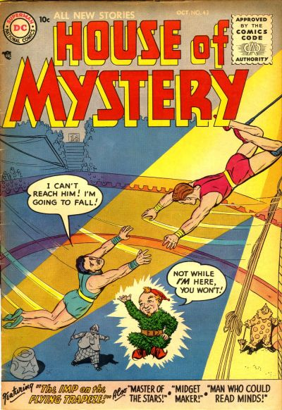Cover for House of Mystery (1951 series) #43