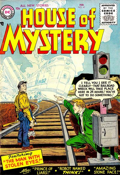 Cover for House of Mystery (1951 series) #47