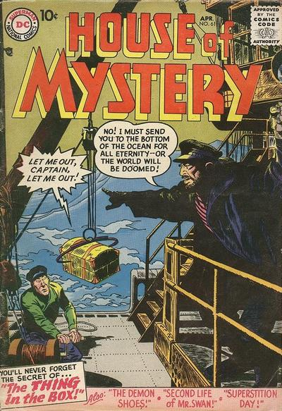 Cover for House of Mystery (DC, 1951 series) #61