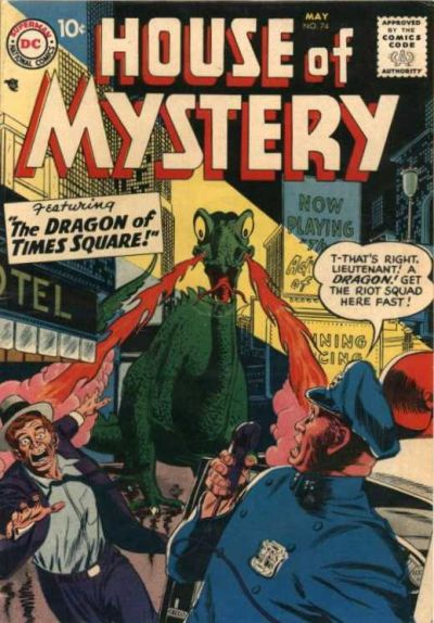 Cover for House of Mystery (DC, 1951 series) #74