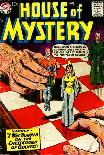 Cover for House of Mystery (DC, 1951 series) #77