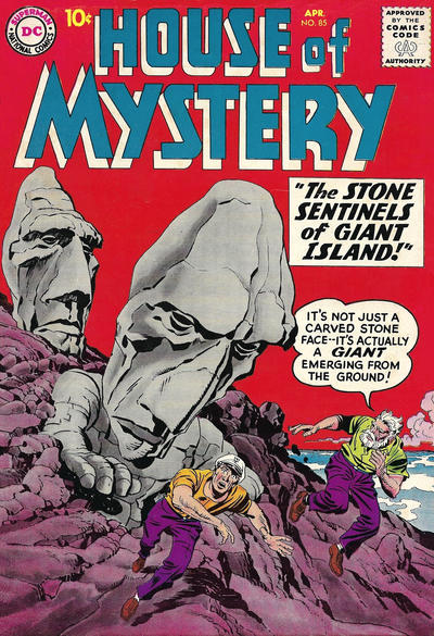 Cover for House of Mystery (DC, 1951 series) #85