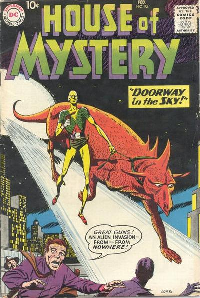 Cover for House of Mystery (DC, 1951 series) #95