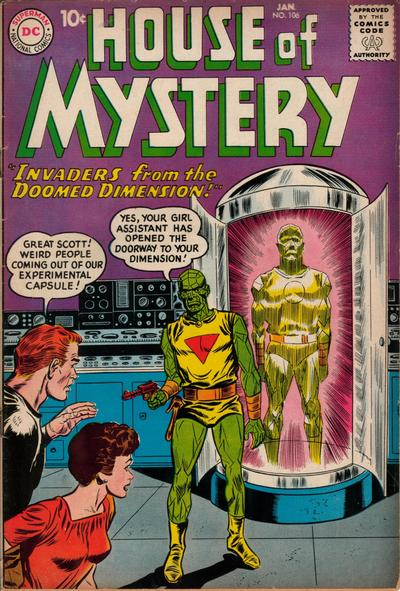 Cover for House of Mystery (DC, 1951 series) #106