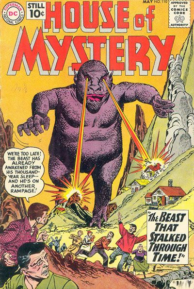 Cover for House of Mystery (DC, 1951 series) #110