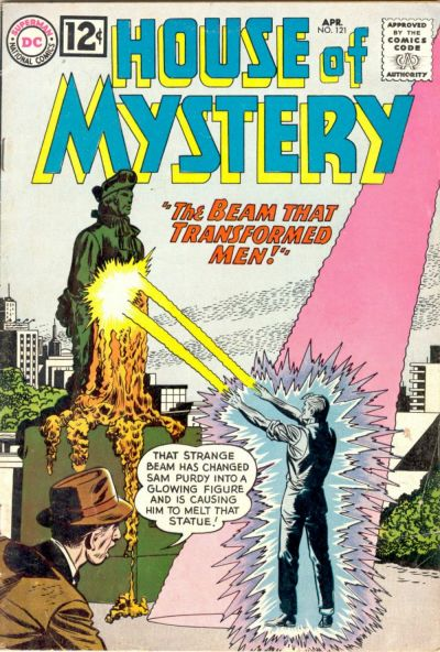 Cover for House of Mystery (DC, 1951 series) #121
