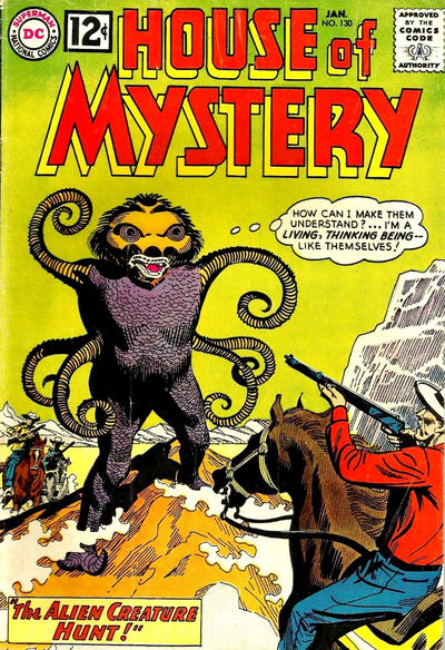 Cover for House of Mystery (1951 series) #130