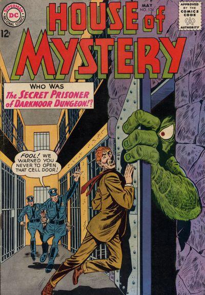 Cover for House of Mystery (DC, 1951 series) #134