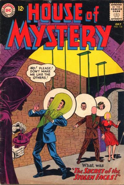 Cover for House of Mystery (1951 series) #136