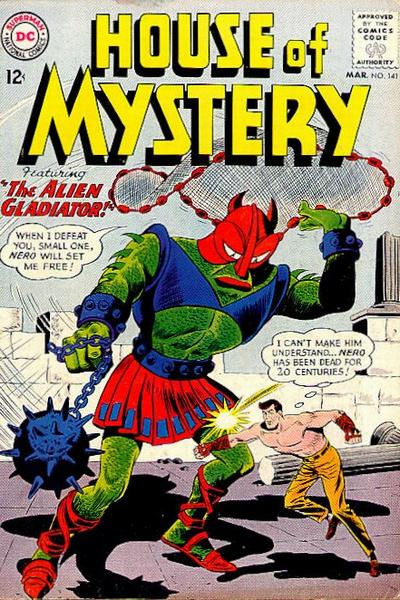 Cover for House of Mystery (DC, 1951 series) #141