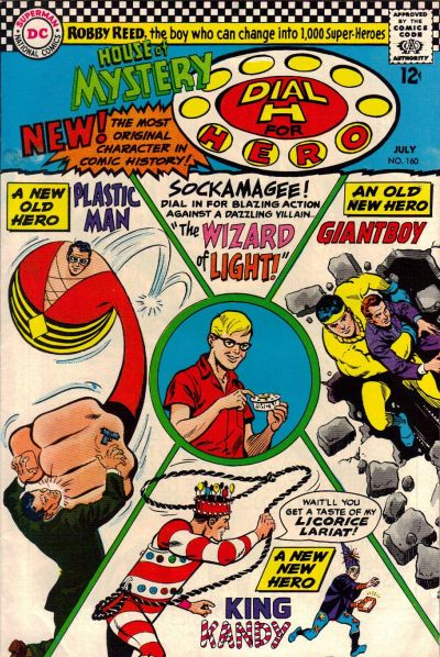 Cover for House of Mystery (DC, 1951 series) #160