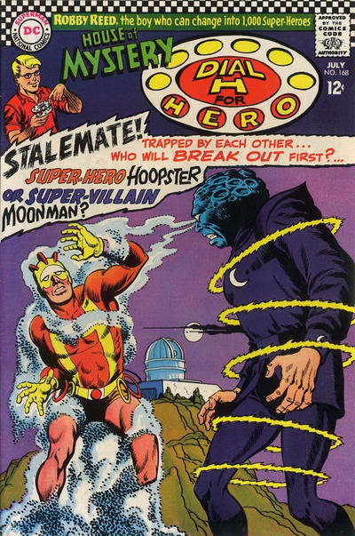 Cover for House of Mystery (DC, 1951 series) #168