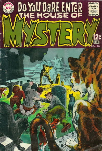 Cover for House of Mystery (DC, 1951 series) #177