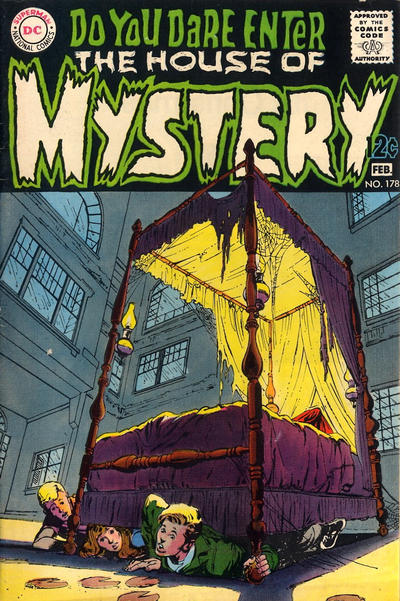 Cover for House of Mystery (DC, 1951 series) #178