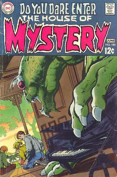 Cover for House of Mystery (DC, 1951 series) #180