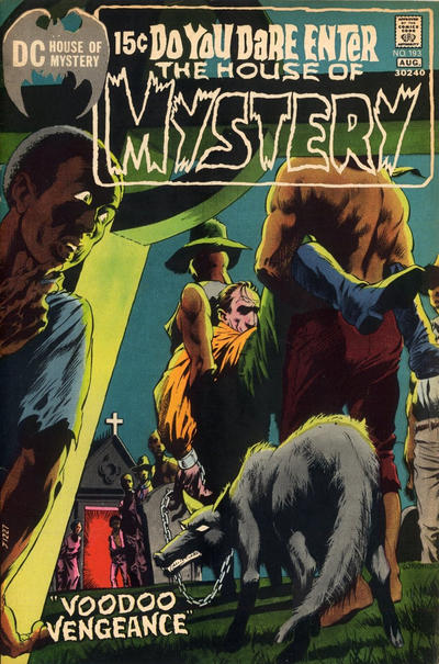 Cover for House of Mystery (DC, 1951 series) #193
