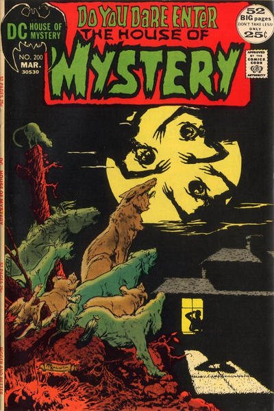 Cover for House of Mystery (DC, 1951 series) #200